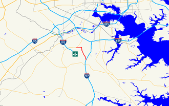 Maryland Route 162 - Image: Maryland Route 162 map