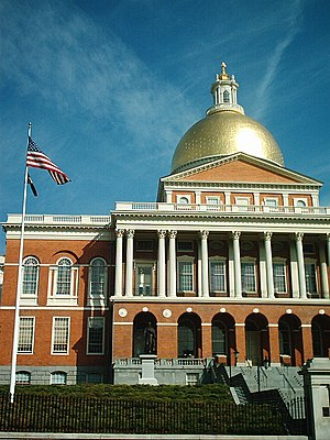 The State House in Boston