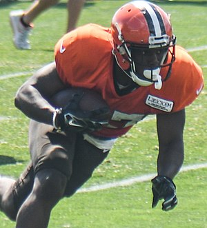 Matthew Dayes - Dayes with the Browns in 2017 training camp