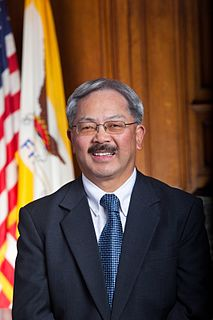 Ed Lee (politician) US politician