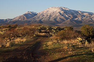 Mazatzal Mountains - East side of the Mazatzal Mountains, March 2010