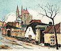 Mazuch Rudolf - Kolín , Bartolomějský chrám (1919).jpg