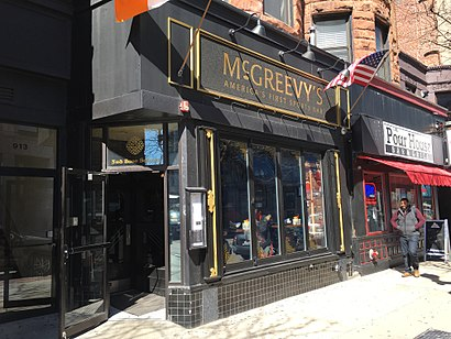 How to get to McGreevy's with public transit - About the place