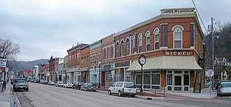 McGregor, Iowa - Downtown McGregor