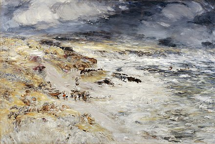William McTaggart, The Storm (1890)
