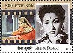 Meena Kumari 2011 stamp of India.jpg