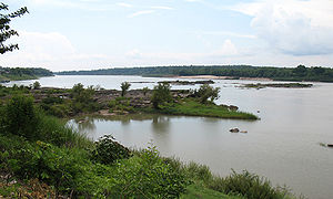 Greater Mekong Subregion - Image: Mekong River in Khong Chiam