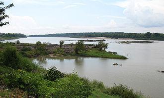 Ubon Ratchathani Province - Mekong River in Amphoe Khong Chiam