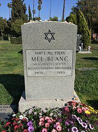 Mel Blanc Grave.JPG