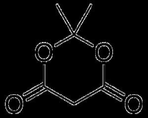 Meldrum's acid - Image: Meldrum's acid