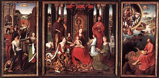 triptych by Hans Memling