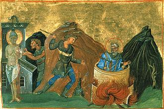 Judas Cyriacus - The martyrdom of Judas Cyriacus.