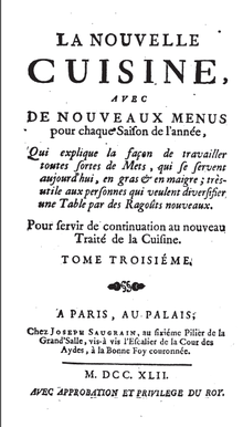 Nouvelle Cuisine Wikipedia