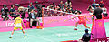 Mens Singles Badminton Final, London 2012 (7758890090).jpg