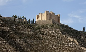 Mequinenza - The heavily restored castle