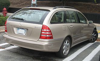 Mercedes-Benz C-Class (W203) - Wagon (pre-facelift)