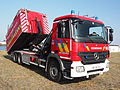 Mercedes Fire engine Brandweer Antwerpen Container Unit pic2.JPG