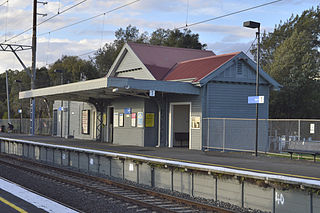 Merri railway station railway station in Northcote, Melbourne, Victoria, Australia