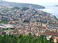Mesto Hvar, vyhled ze Spanjoly - pevnosti z 15. stol.jpg