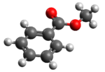 3D model of methyl benzoate