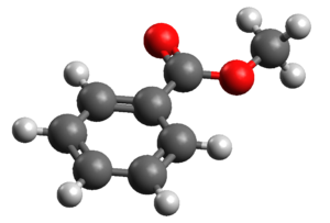 Methyl benzoate - Image: Methyl Benzoate 3D Computer Model