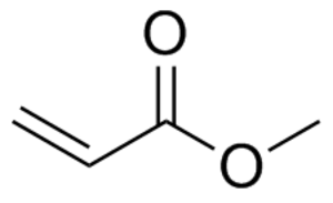 Methyl acrylate - Image: Methyl acrylate