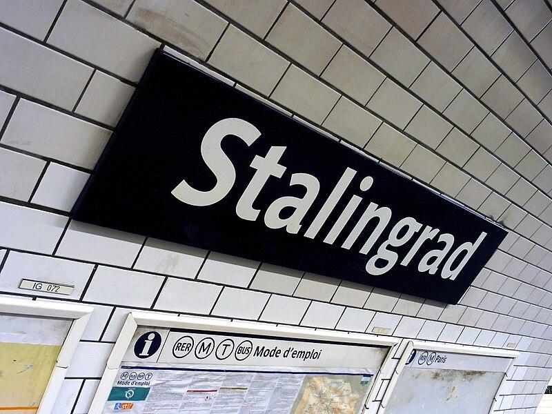 Fichier:Metro de Paris - Ligne 7 - Stalingrad 03.jpg