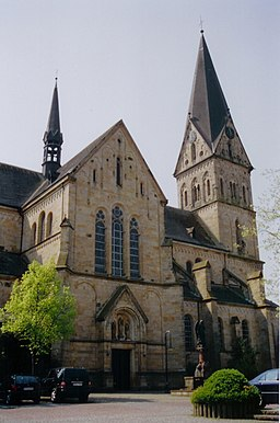 This is a photograph of an architectural monument.It is on the list of cultural monuments of Mettingen, no. 02