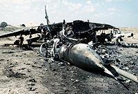 MiG-29 wreck