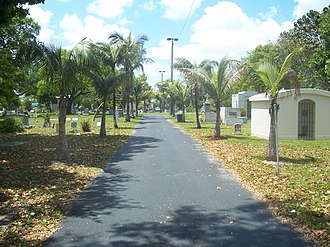 Miami City Cemetery - Image: Miami FL city cemetery 02