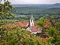 Michaels-Kirche in Grafenberg, 1246 erstmals erwähnt. Der heutige Kirchenbau geht auf einen Neubau von 1726 zurück. - panoramio.jpg