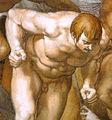 Michelangelo, giudizio universale, dettagli 40.jpg