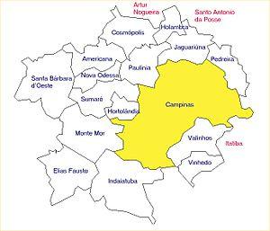 Microregion-campinas
