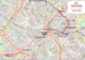Midland Metro Line 1 Birmingham Extensions Map.png