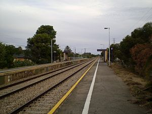Outer Harbor railway line - Image: Midlunga Railway Station Adelaide