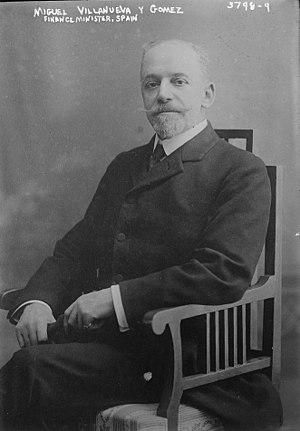 Villanueva y Gómez, Miguel (1852-1931)