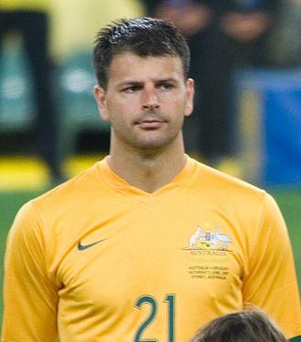 Mile Sterjovski - Sterjovski with Australia in 2007