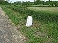 Milestone north of Littlebury, Essex. - geograph.org.uk - 83539.jpg