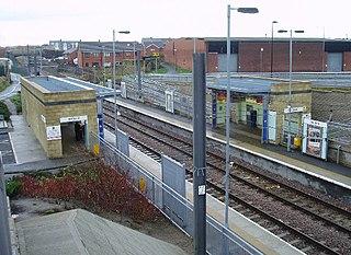 Millfield Metro station Tyne and Wear Metro station in Sunderland