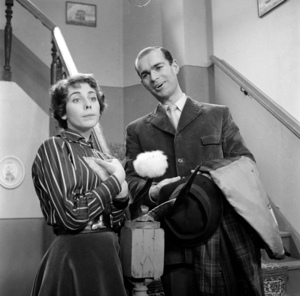 Mimi Kok - Mimi Kok and Henk van Ulsen in Pension Hommeles (1958)