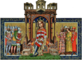 Miniatures of Louis I (Chronicon Pictum).png