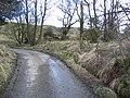 Minor Road Corner near Ty-cerrig - geograph.org.uk - 351545.jpg
