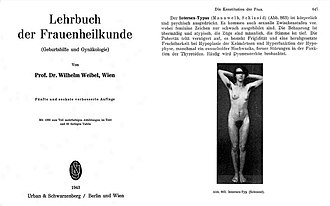 """Intersex rights in Germany - A pseudo-diagnosis from Nazi Germany in 1943. The text reads: """"The intersex type is physical and expressed. There are also sexual intermediate stages, whereby feminine signs are only weakly developed. The hair is over and atypical, the features are male, the voice is deep. Puberty occurs with delay, there is frigidity and a harassed fertility in hypoplasia of the gonads and hyperfunction of the pituitary gland, sometimes a eunuchoider Hochwuchs, also disorders in the function of the thyroid gland. Often dysmenorrhea is observed.""""."""