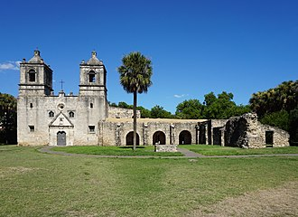Mission Concepcion - Image: Mission Concepción July 2017 01
