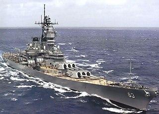 USS <i>Missouri</i> (BB-63) Iowa-class battleship of the U.S. Navy