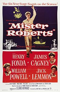 Mister Roberts (1955 movie poster).jpg