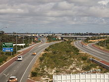 Photograph of freeway