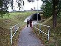 Mníšek pod Brdy, podchod pod R4 u hřbitova.jpg