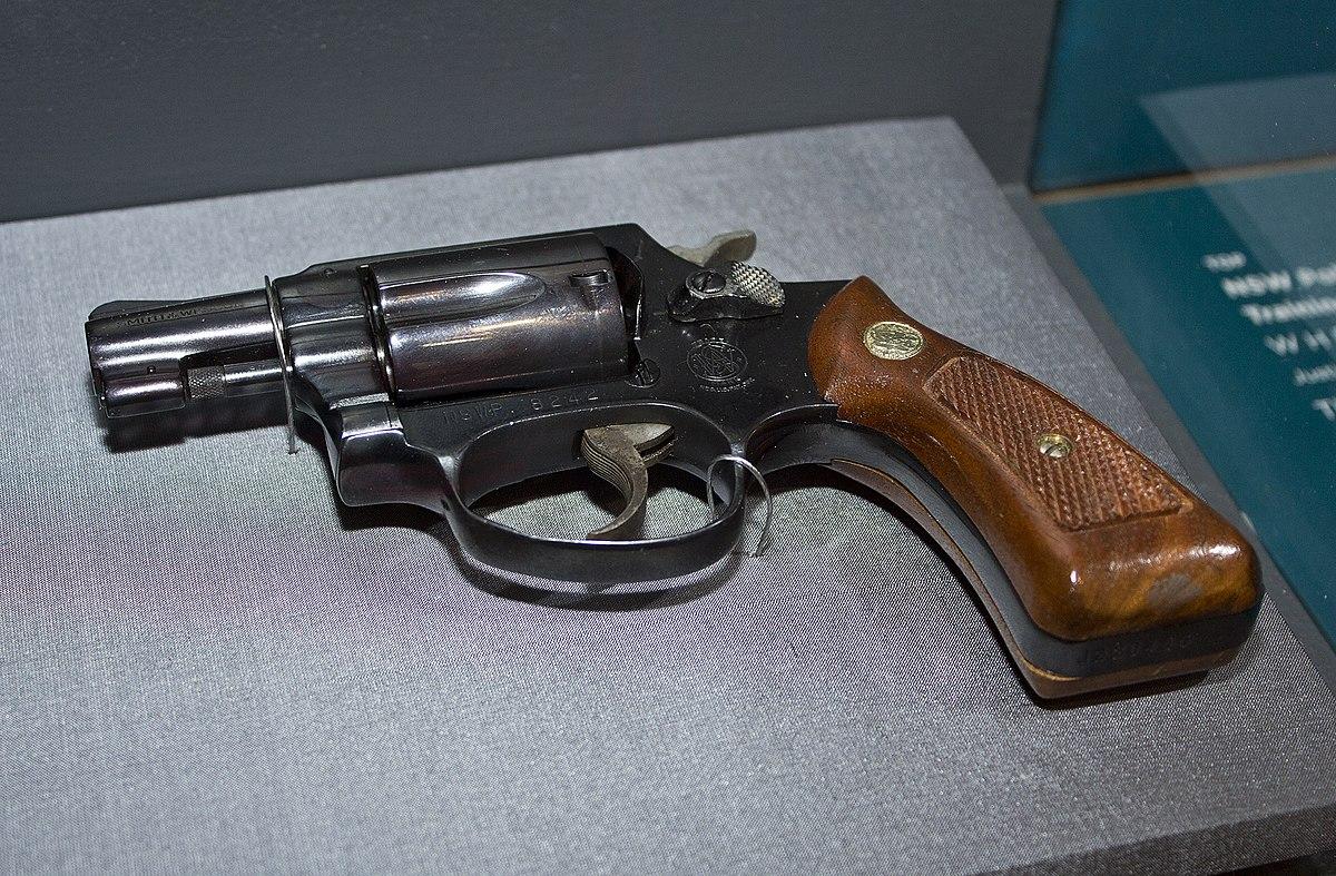 Smith & Wesson Model 36 - Wikipedia