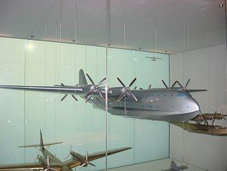 Dornier Do 214 - Do 214 model at Dornier's museum in Friedrichshafen